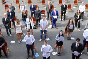 Feierliche Zeugnisübergabe 2021 an der Berufsbildenden Schule Lahnstein