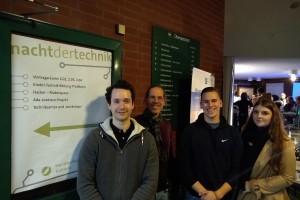 Besuch der Nacht der Technik der Handwerkskammer Koblenz der BOS2